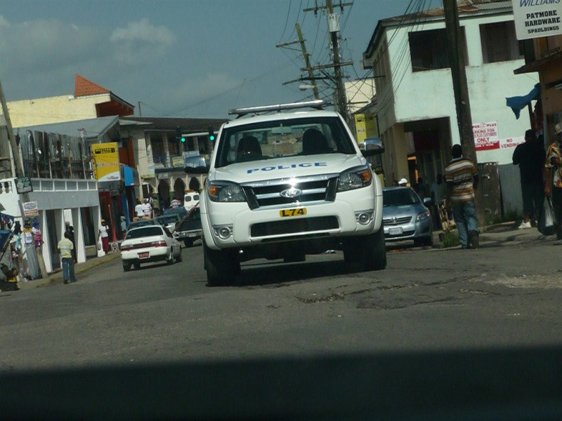 Police presence in Jamaica; photo by Jason Lawrence, used under a CC BY 2.0 license.