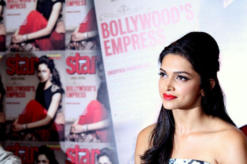 Indian Bollywood actress Deepika Padukone in Mumbai. Image by Ravindra Hande. Copyright Demotix (5/11/2014)