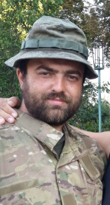 Sergei Misyura, an officer in the Ukrainian Army. (image courtesy of Sergei Misyura)