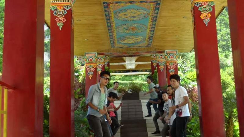 Screenshot from the video Happy Sikkim uploaded by Sushmita Pakhrin