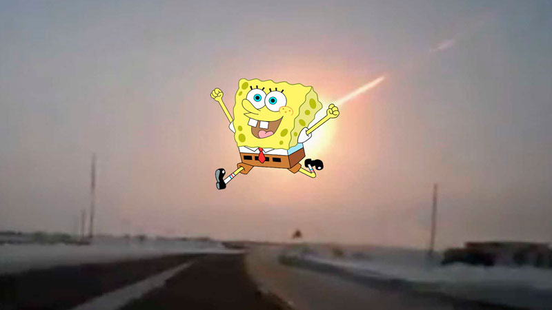 The SpongeBobcalypse. Edited by Kevin Rothrock.