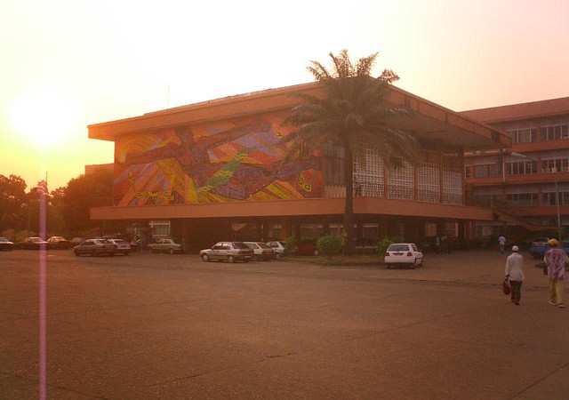 University of Conakry at Dusk  - Public Domain