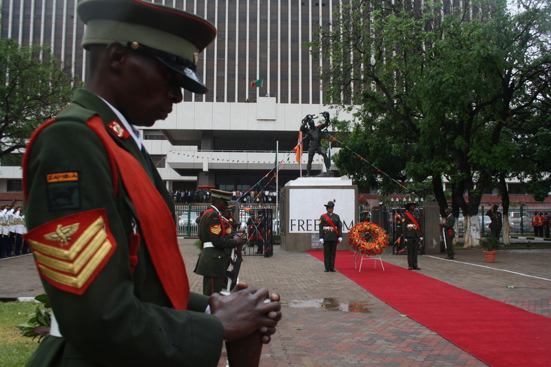 Zambia's National Freedom Day last year in Lusaka. October 24, 2013, photo by Owen Miyanza. Demotix.