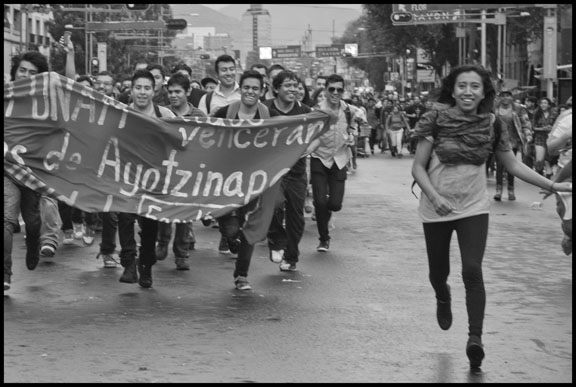 Students March In Memory of 1968 Massacre
