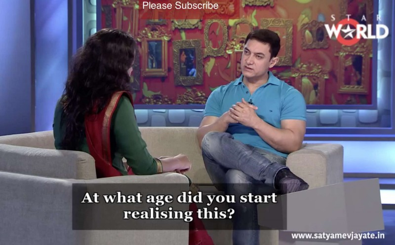 "Screenshot of the Indian talk show ""Satyamev Jayate"""