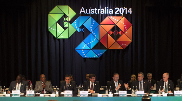 G20 Summit in Brisbane Australia. Flickr photo from GovernmentZA (CC License)
