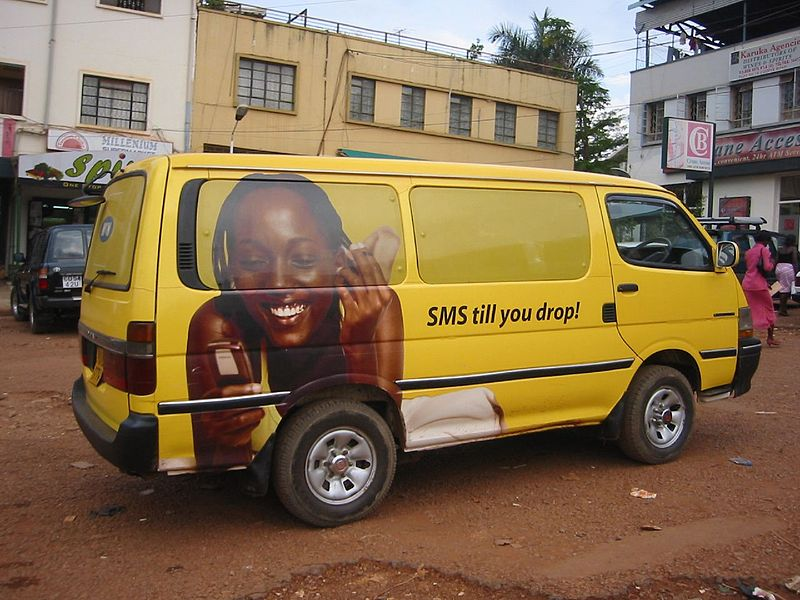 An MTN vehicle in Uganda, November 28, 2005, CC 2.0