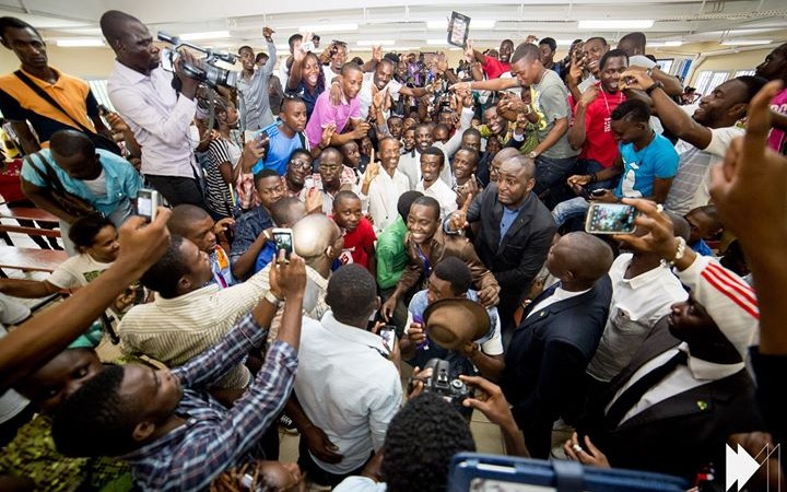 Akon in West Africa for his electrify project with permission