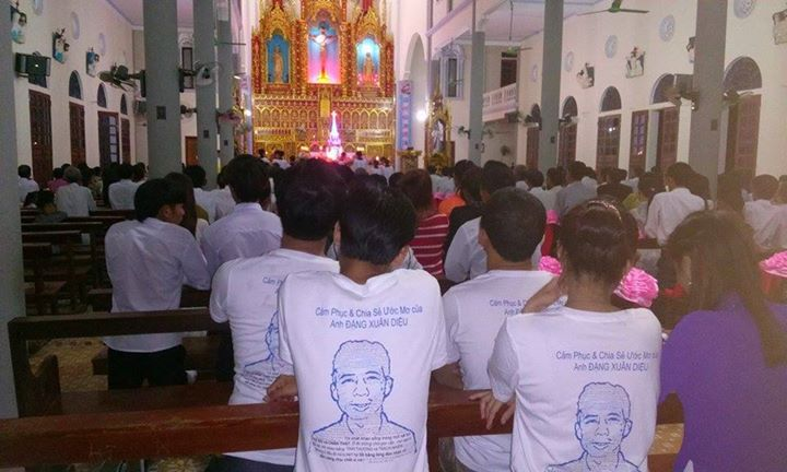 Catholic diocese of Vinh (Vietnam). Photo from Viet Tan