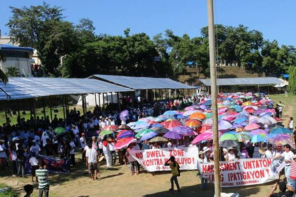 Big protest by residents of Estancia town, Iloilo seek justice for Haiyan victims. Photo Credits: Bayan-Panay.