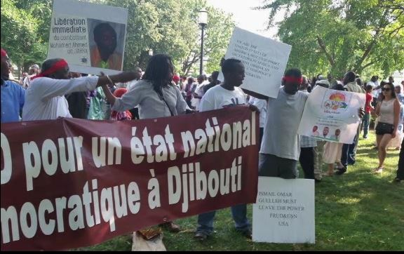Protests for Democracy in Djibouti via USN Djibouti