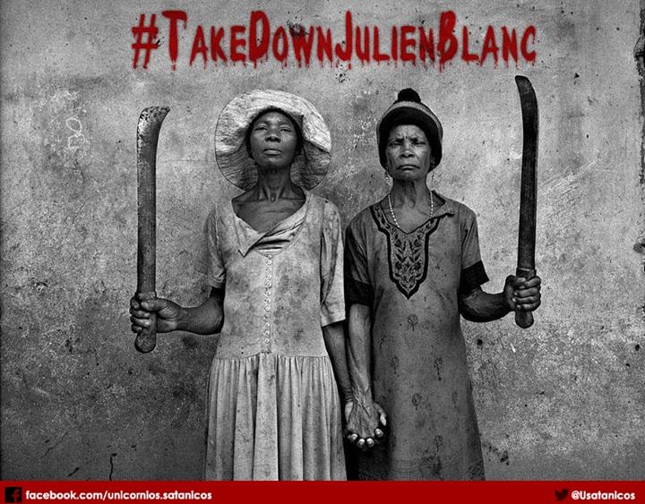 #TakeDownJulienBlanc