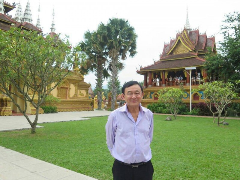 Former Thailand Prime Minister Thaksin Shinawatra. Photo from Facebook page of Yingluck Shinawatra