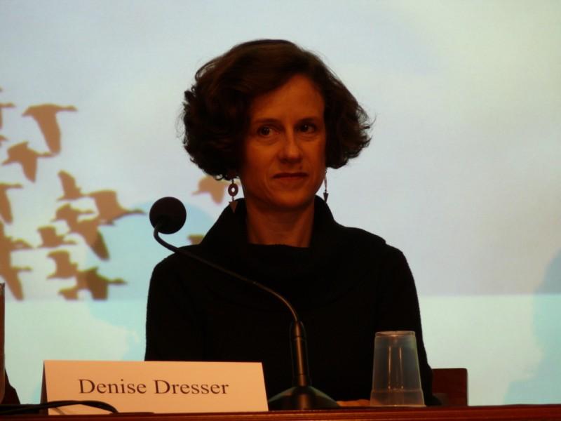 Denisse Dresser. Photo by Pablo H. Originally published in Flickr under Creative Commons License.