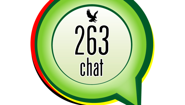 The logo of 263Chat.