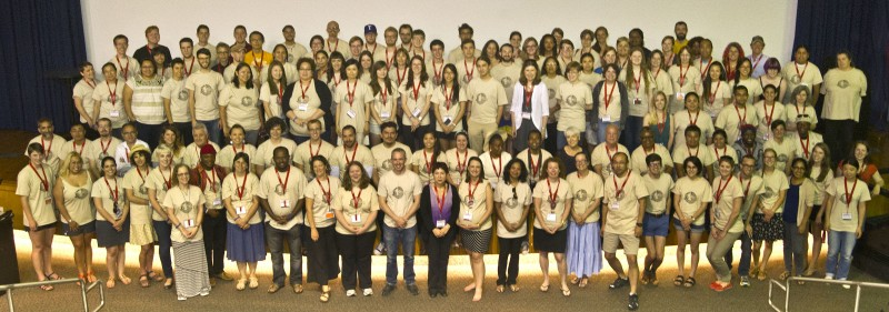 CoLang 2014 Group Photo, courtesy of UTA/Robert Crosby.