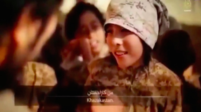 ISIS have made a boy who calls himself Abdullah the star of two of their propaganda videos.