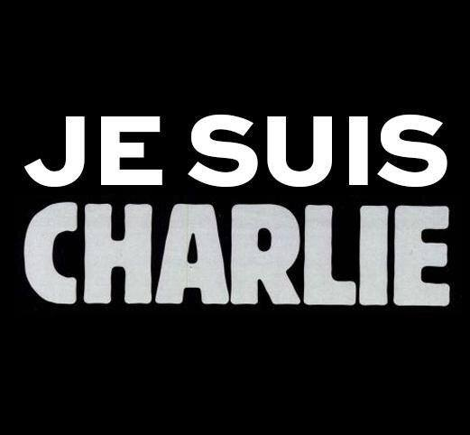 "The ""Je Suis Charlie"" slogan, uploaded by flickr user Clément Belleudy; used under a CC BY-SA 2.0 license."