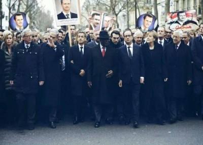 Ziad Khilleh shared on Facebook. We love you, Bashar!