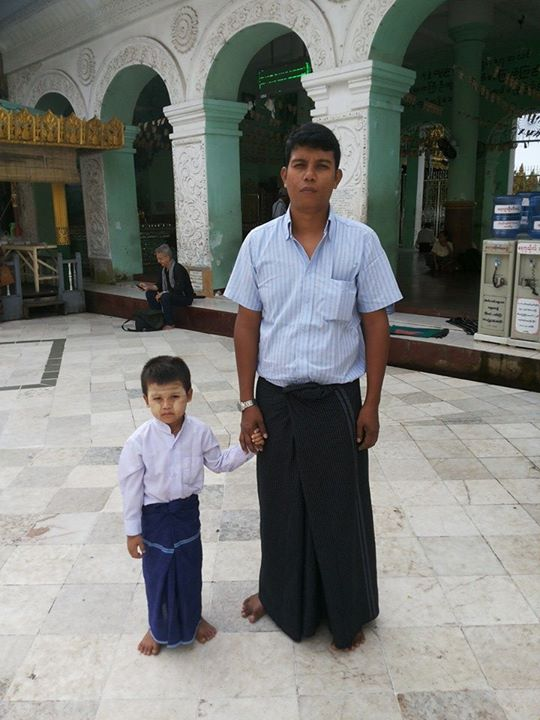 rangoon father and son