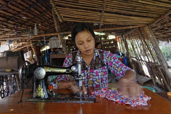 rangoon seamstress
