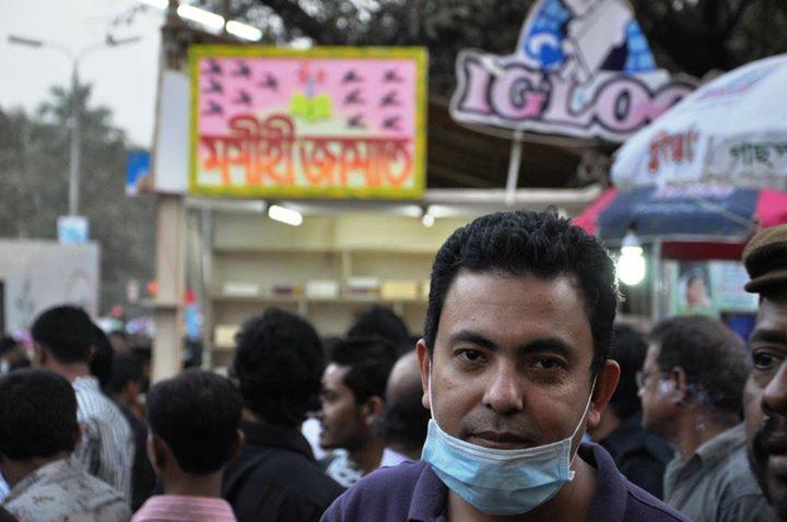 Avijit Roy, Image Credit: Tanmoy Kairy