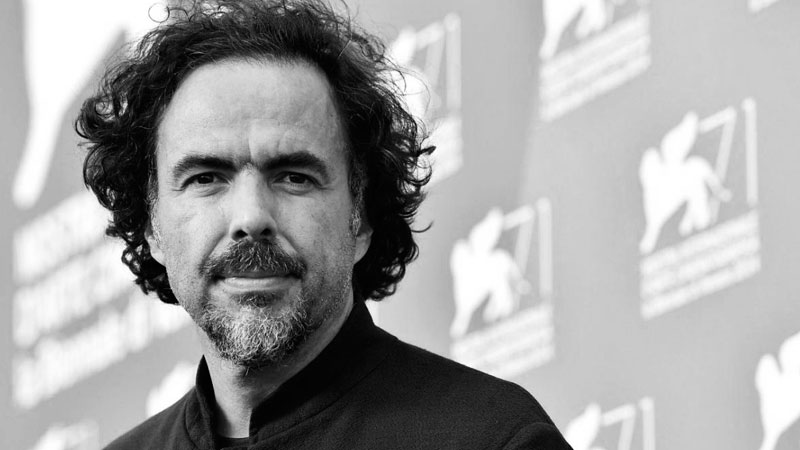 Mexican film director Alejandro González Iñárritu, 2015 Oscar winner for Best Director his film, Birdman. Photo taken from Tarlen Handayani's account on Flickr under the Creative Commons license.