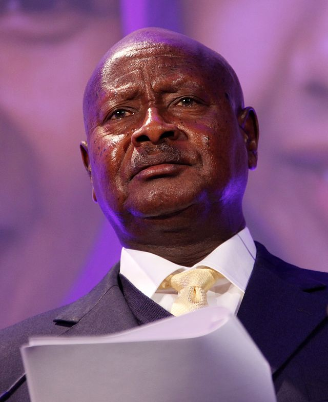 Uganda's president Yoweri Museveni is looking to extend his stay in power since he took over in 1986. Photo released under Creative Commons by Russell Watkins/Department for International Development UK).