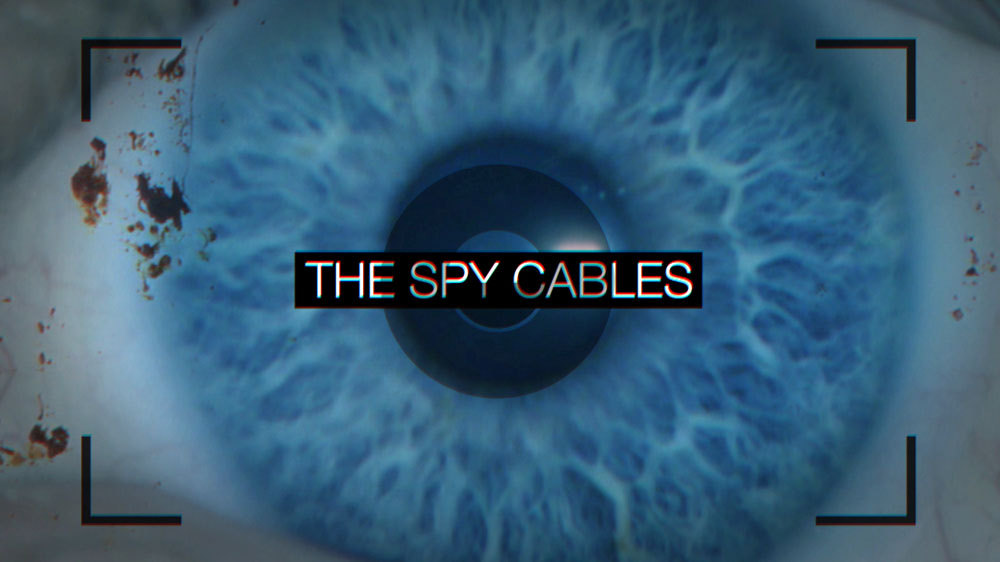 Screenshot from Al Jazeera's Promotional Video for the 'Spy Cables'
