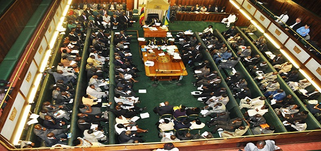 Uganda's parliament in session. Photo by