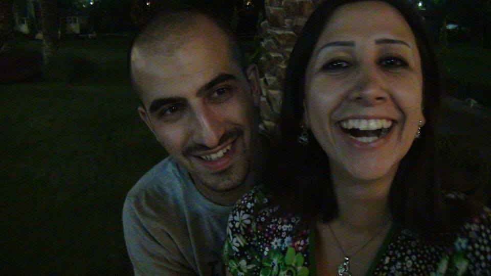 Bassel Safadi et son épouse Noura. Photo from Noura Ghazi Safadi's Facebook page.