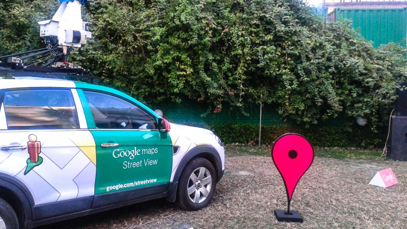 Launching of Google Streetview Car in Bangladesh.  Image by Rezwan. (9/2/2013)
