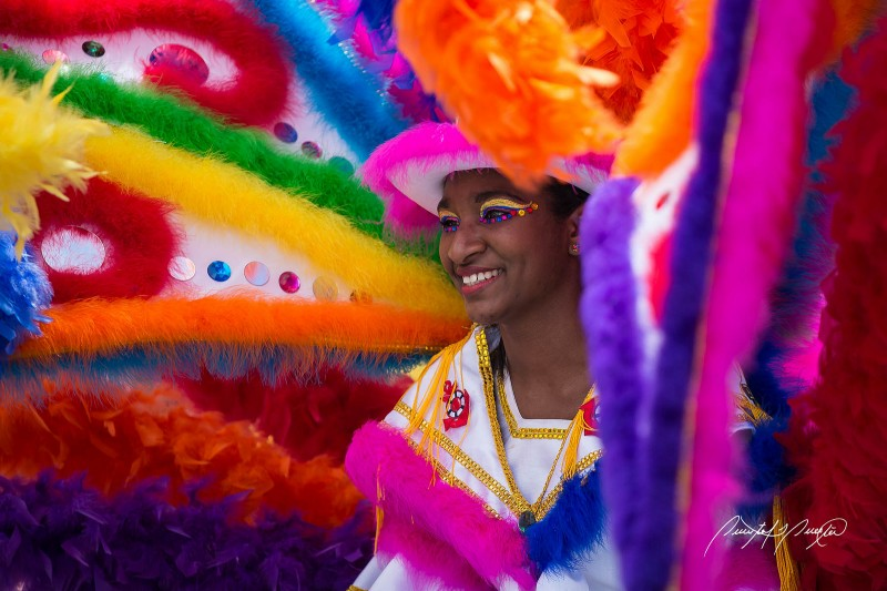 A junior masquerader. Photo by Quinten Questel, used under a CC BY-NC-ND 2.0 license.