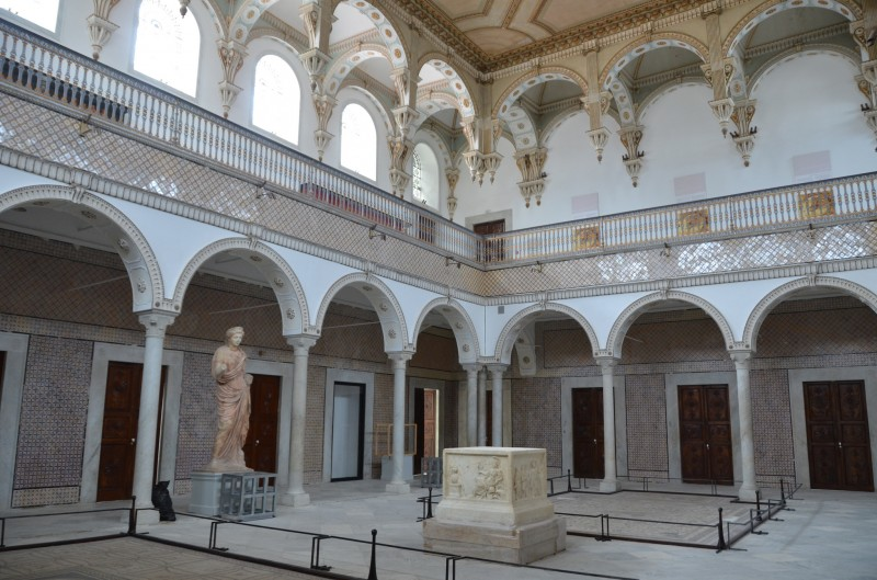The Bardo Museum in Tunis, which houses the largest collection of Roman mosaics in the world, will reopen to visitors next Tuesday. Photo by Richard Mortel shared on flickr under a BY-NC-SA creative commons license.