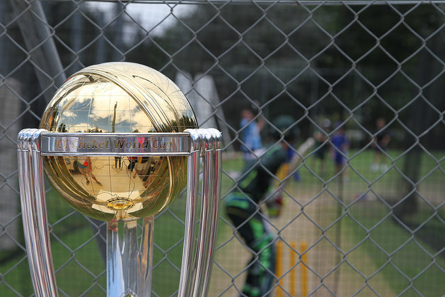 The battle for the World Cup of Cricket is in full swing