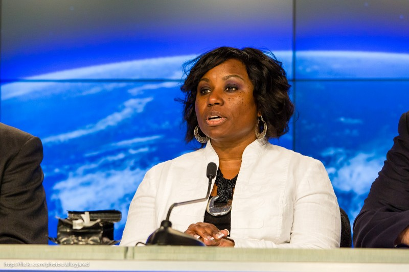 Camille Alleyne, NASA International Space Station Program Science Office; photo by Jared, used under a CC BY-NC 2.0 license.