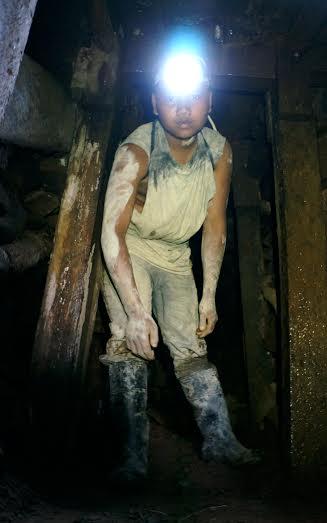 child labor mining
