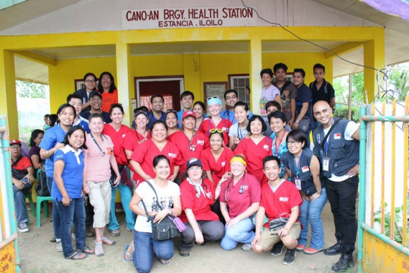 Medical mission in Estancia. Photo from Facebook page of Nona Prieto.