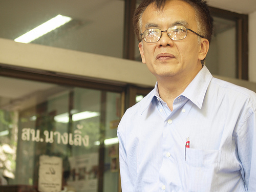 Somsak Jeamteerasakul. Photo from Prachatai website.