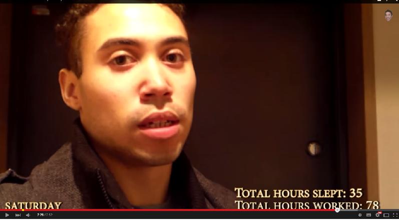 Fotografie z videa Týden v životě tokijského sararimana
