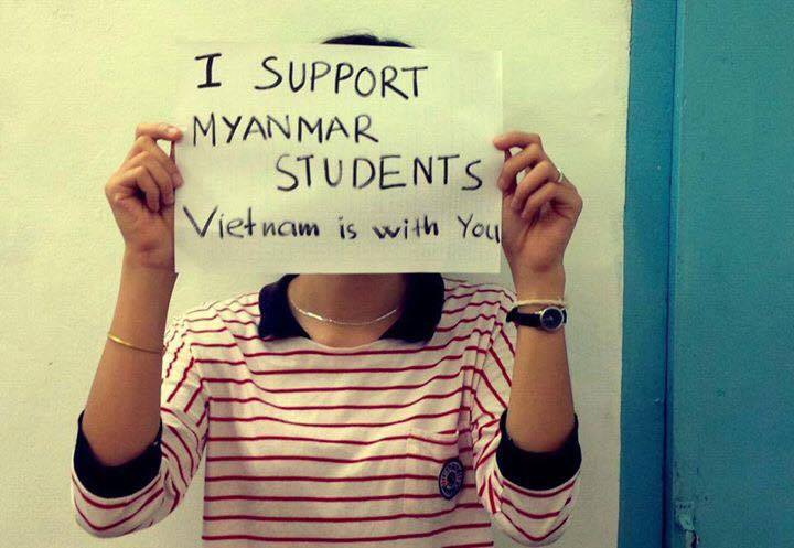 Support from Vietnam