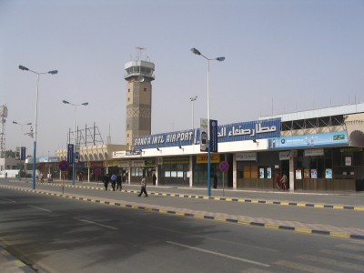 Sana'a airport. Photo from yemenfox.net