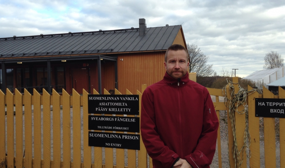 Jukka Tiihonen served the last few years of his sentence for murder at this open prison on Suomenlinna Island. Credit: Rae Ellen Bichell. Published with PRI's permission