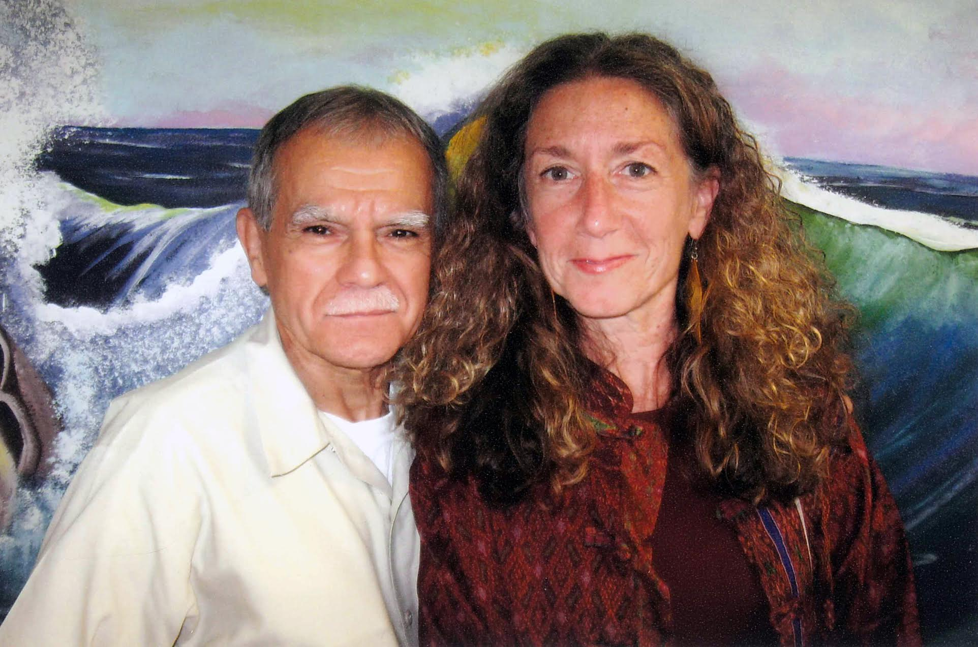 Oscar Lopez Rivera and Jan Susler. Photo courtesy Jan Susler.