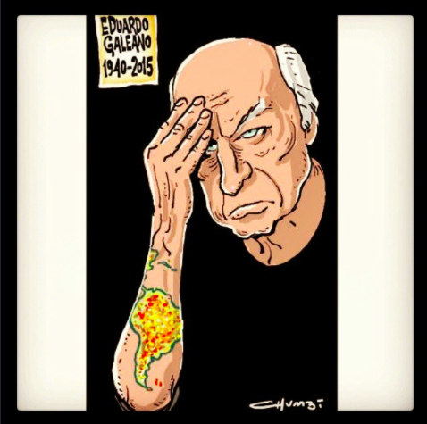 #Galeano by #Chumbi. Image from Instagram