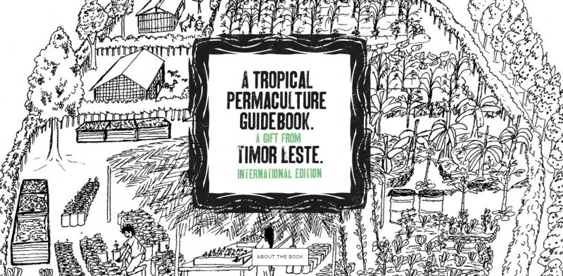 Visit the project's website and crowdfunding campaign. Follow the Permaculture Guidebook on Twitter (@permaguidebook) and Instagram.