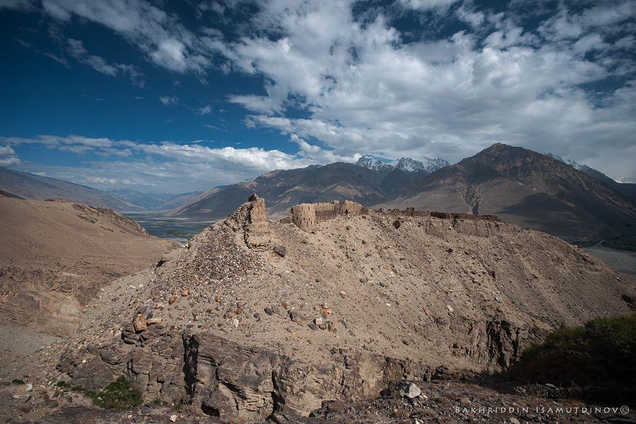 Yamchun fortress, Wakhan Corridor. Photo by Bahriddin Isamutdinov