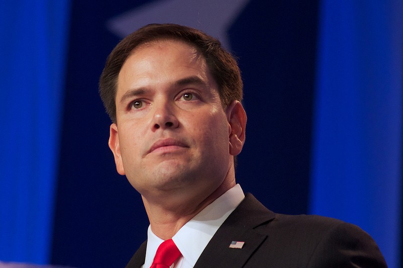 Marco Rubio hopes to be the first Latino president of the United States. But how long can he pander both the Latino and Republican base to achieve this end? Photo courtesy of Flickr/jbouie (CC BY 2.0)