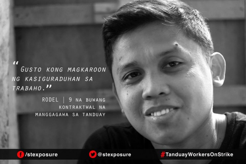 """I like to have job security."" - Rodel 