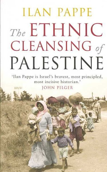 Book cover of 'The Ethnic Cleansing of Palestine' (Source: Wikipedia)